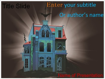 Haunted House PowerPoint Template