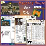 Haunted House Halloween Puzzles Real Estate Set (Synonyms,