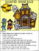 Haunted House Race - Number Recognition, Plus 1, Minus 1, Plus 10, Minus 10