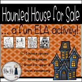Haunted House Real Estate PLUS Creative Writing & Adjective Work