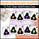"""Haunted House Shape """"Go Fish"""" Card Game"""