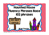 Haunted House Sight Word Fluency Phrases Race