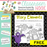 Haunted House Story Elements - Graphic Organizer to Use With Any Story