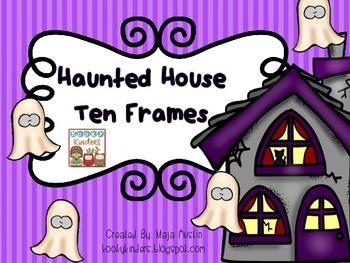 Haunted House Ten Frames
