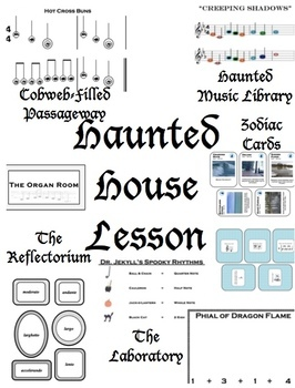 Haunted House-Themed Music Lesson