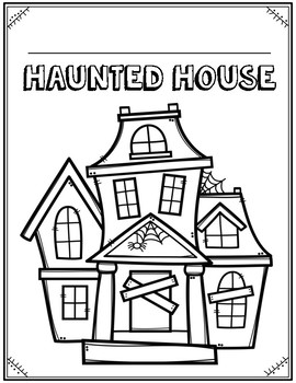 Haunted House and Haunted Maze Area and Perimeter Projects