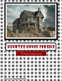 Haunted House for Sale- Halloween Writing Project