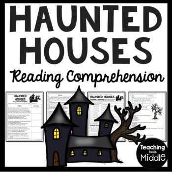 Haunted Houses poem by Longfellow, vocabulary, comprehensi