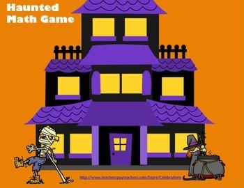 Haunted Math Game