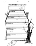 Haunted Paragraphs Graphic Organizer