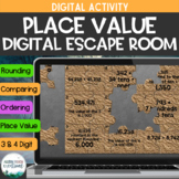 Distance Learning: Place Value Haunted House: Digital Brea