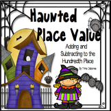 Halloween Math: Halloween Haunted Place Value for First and Second Grade