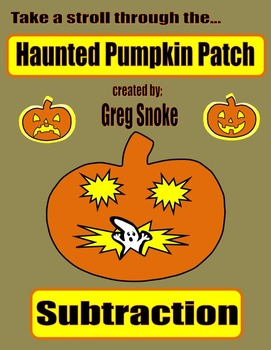 Haunted Pumpkin Patch Game (Subtraction)