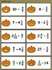Haunted Pumpkin Patch Gamecards (Multiply & Divide Fractio