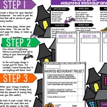 Haunted Restaurant Addition Project