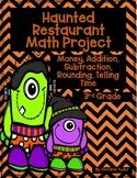 Haunted Restaurant Math Project {Halloween}