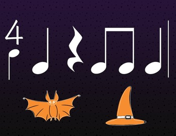 Haunted Rhythm: A Halloween composition activity for ta, ti ti and rest