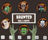 Haunted Roll & Write (Halloween Writing)