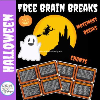 Halloween Activities: Haunting Brain Breaks {Free}