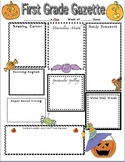 Haunting Halloween Home Learning Newsletter