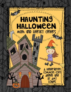 Haunting Halloween Math and Literacy Centers
