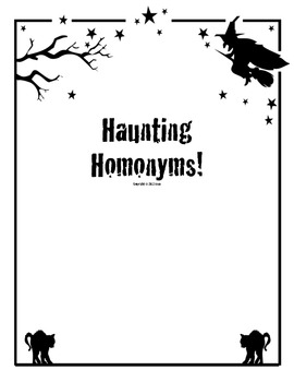 Haunting Homonyms