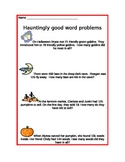 Hauntingly Good Word Problems