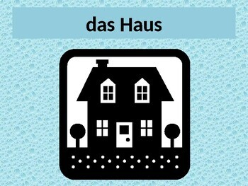 Haus (House in German) power point