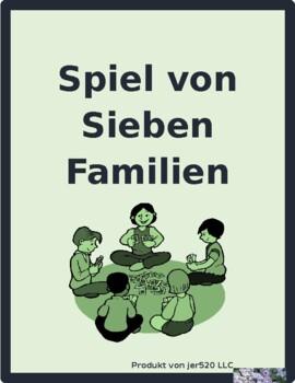 Haus und Möbel (House and Furniture in German) Spiel von sieben Familien