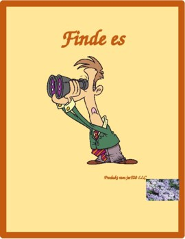 Hausarbeit (Chores in German) Find it Worksheet