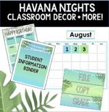 Havana Nights Tropical Classroom Decor and More!