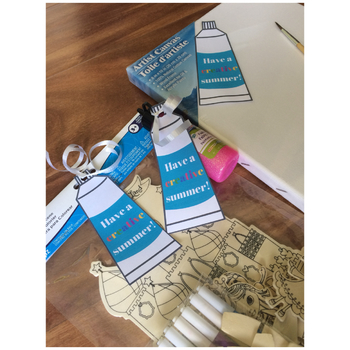 Have A Creative Summer - End of the Year Favor Tags