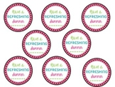 """""""Have A Refreshing Summer"""" {gift labels}"""