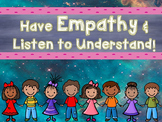 Have Empathy & Listen to Understand: A PowerPoint Lesson