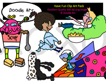 Have Fun Clipart Pack