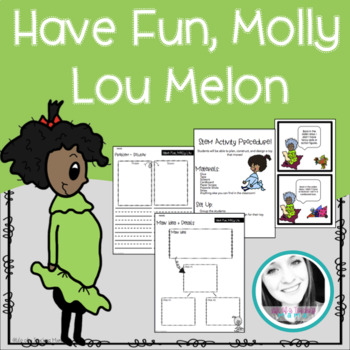 Have Fun, Molly Lou Melon Writing and Building Activity + Lesson Plan