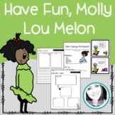 Have Fun, Molly Lou Melon Writing and Building Activity +
