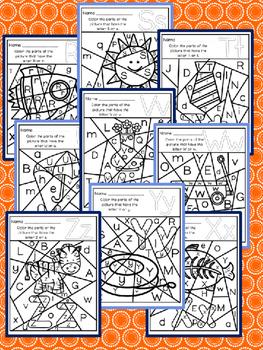 Have Fun Reading - Alphabet Letter Recognition Hidden Pictures RF.K.2