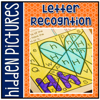 Have Fun Reading - Alphabet Letter Recognition Hidden Pictures RF.K.2