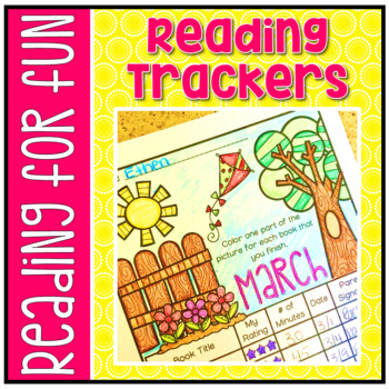 Have Fun Reading - Monthly Reading Trackers