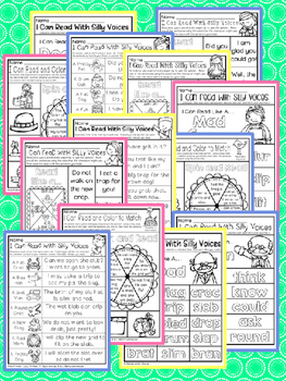 Have Fun Reading - Read With Silly Voices NO PREP 1st Dolch R and L Blends