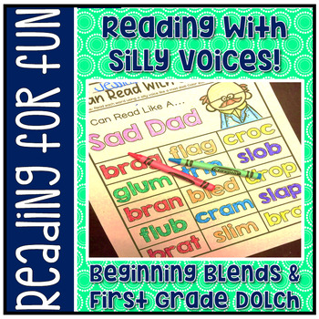 Have Fun Reading - Read With Silly Voices NO PREP 1st Dolc