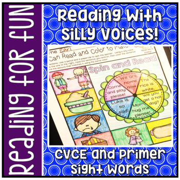 Have Fun Reading - Read With Silly Voices NO PREP printabl