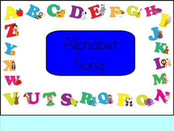 Have Fun Teaching Alphabet Songs for SmartBoard