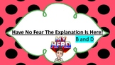 Have No Fear: B and D Anchor Chart  Is Here!
