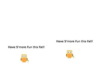 Have S'more Fall Fun