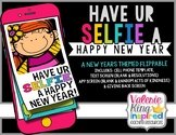 Have Ur Selfie A Happy New Year: Cell Phone Craftivity