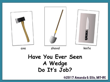 Have You Ever Seen A Wedge Do It's Job?