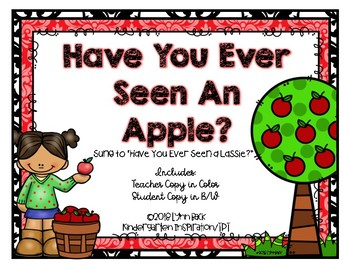 Have You Ever Seen An Apple Song