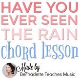 Ukulele Chord Lesson - Have You Ever Seen The Rain